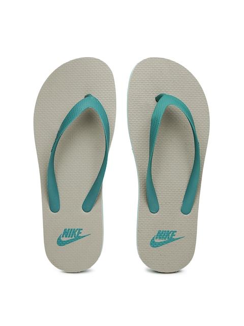 96e6a0c2447 Buy Nike Men Green   Grey Aquaswift Flip Flops - Flip Flops for Men ...