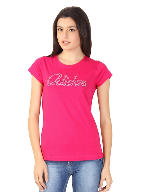adidas t shirt womens Pink Sale,up to 53% Discounts