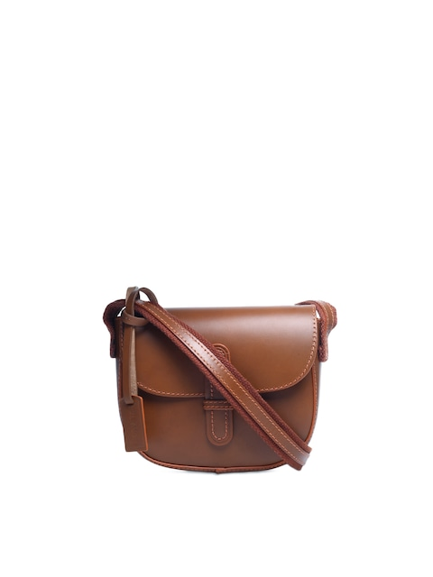 Buy Ivory Tag Women Tan Sling Bag - Handbags for Women | Myntra