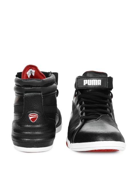 PUMA Ducati Xelerate Mid Shoes   Shoes, Black shoes
