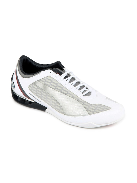 Buy Puma Men White Power Race BMW Motorsport Shoes - Sports Shoes for Men  fc3432368