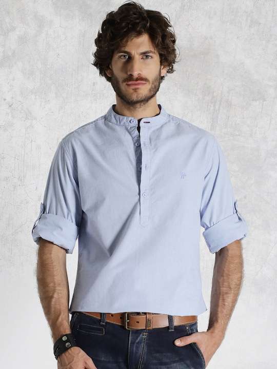 Roadster Blue Casual Shirt