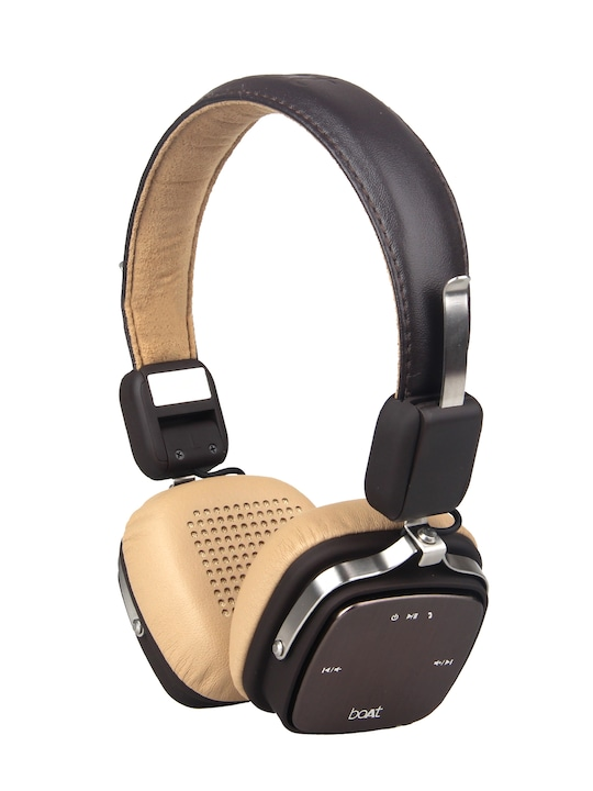 Rockerz Brown 600 Wired Wireless Bluetooth Headset With Mic Buy Online In Kuwait Boat Products In Kuwait See Prices Reviews And Free Delivery Over Kd 20 000 Desertcart