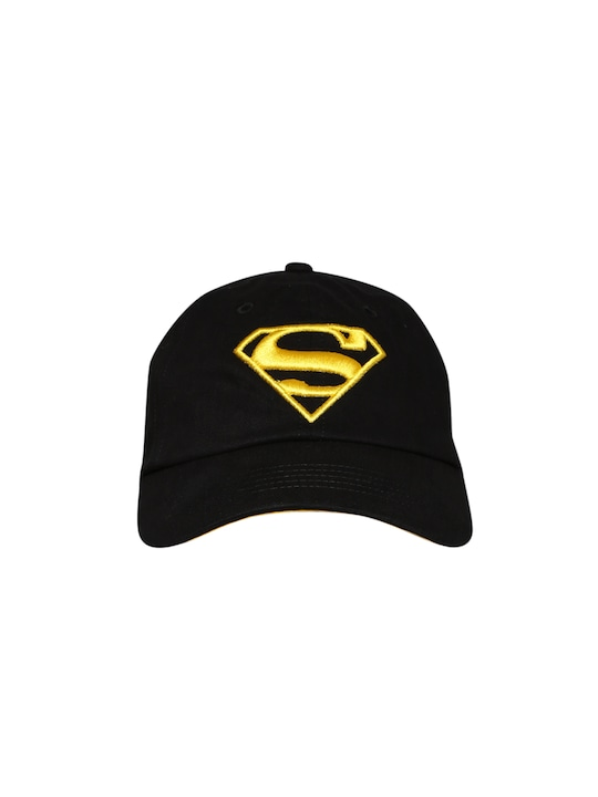 Kook N Keech Superman Men Black Cap