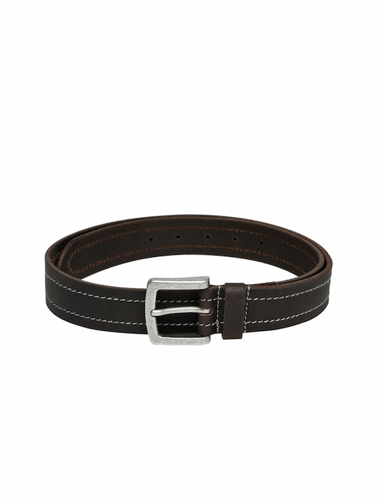 Celio Men Dark Brown Leather Belt