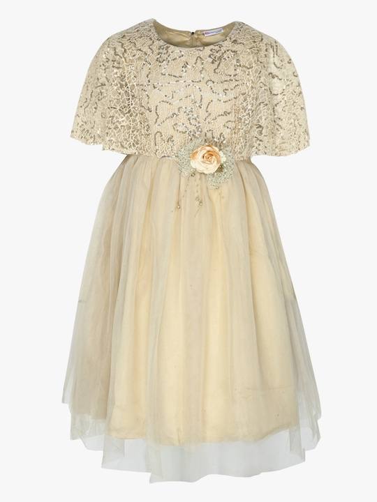 Golden Party Dress