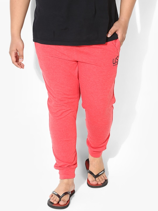 Parker Red Track Pant
