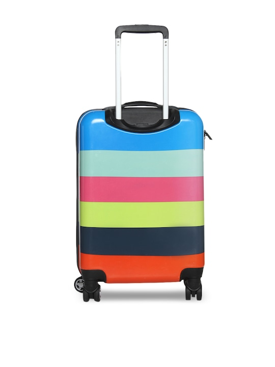 exclusive deals dirt cheap superior quality BENETTON KIDS Multicoloured Striped Cabin Trolley Suitcase - Buy ...