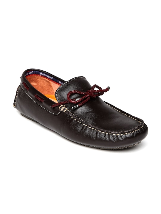 Hush Puppies by Bata Men Brown Leather
