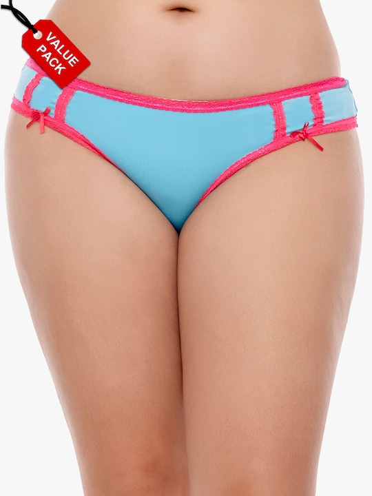 Pack Of 3 Assorted Panties