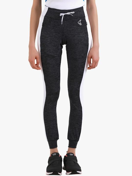Dark Grey Printed Leggings