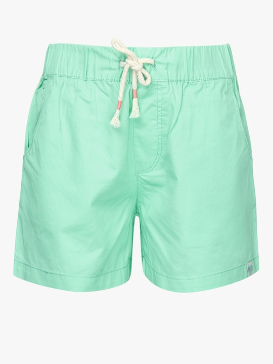 Solid Green Shorts