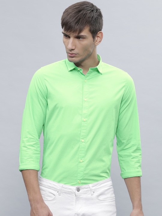 Green Casual Shirt