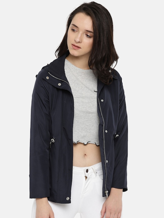 Navy Blue Winter Coat