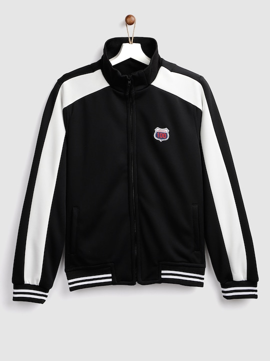 Ess Downm  Black Bomber Jacket