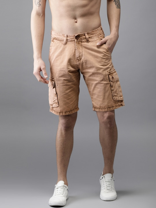 Rust Solid Shorts