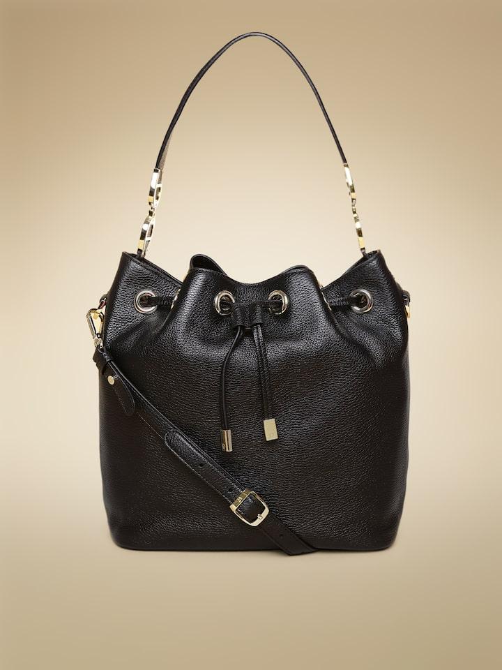 f5751ef1bb02 Buy AIGNER Women Black Solid Shoulder Bag - Handbags for Women 1553353