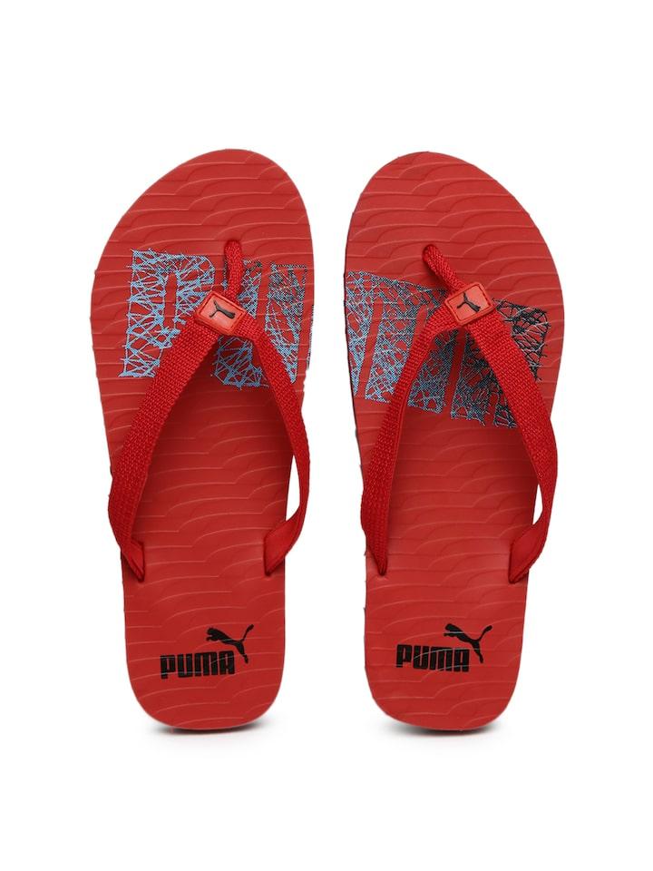 197e852f8f3f8 Buy Puma Unisex Red Miami NG DP Printed Flip Flops - Flip Flops for Unisex  1705719