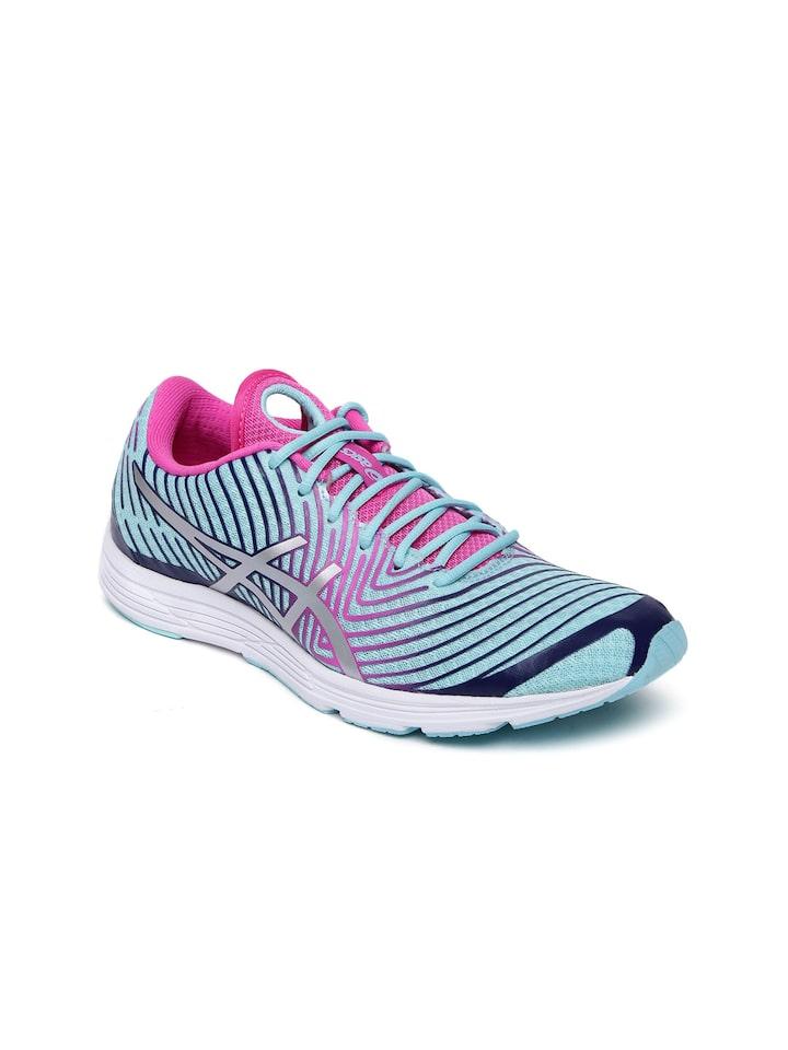ASICS Women Blue Gel Hyper Tri 3 Running Shoes