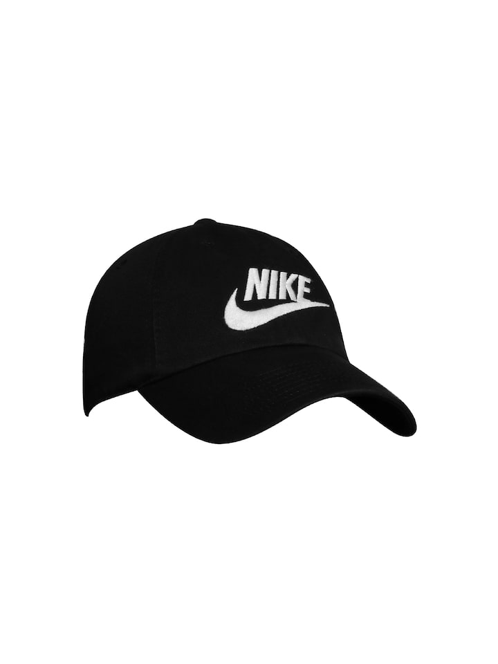 3b860c32 Buy Nike Unisex Black FUTURA Heritage86 Cap - Caps for Unisex ...