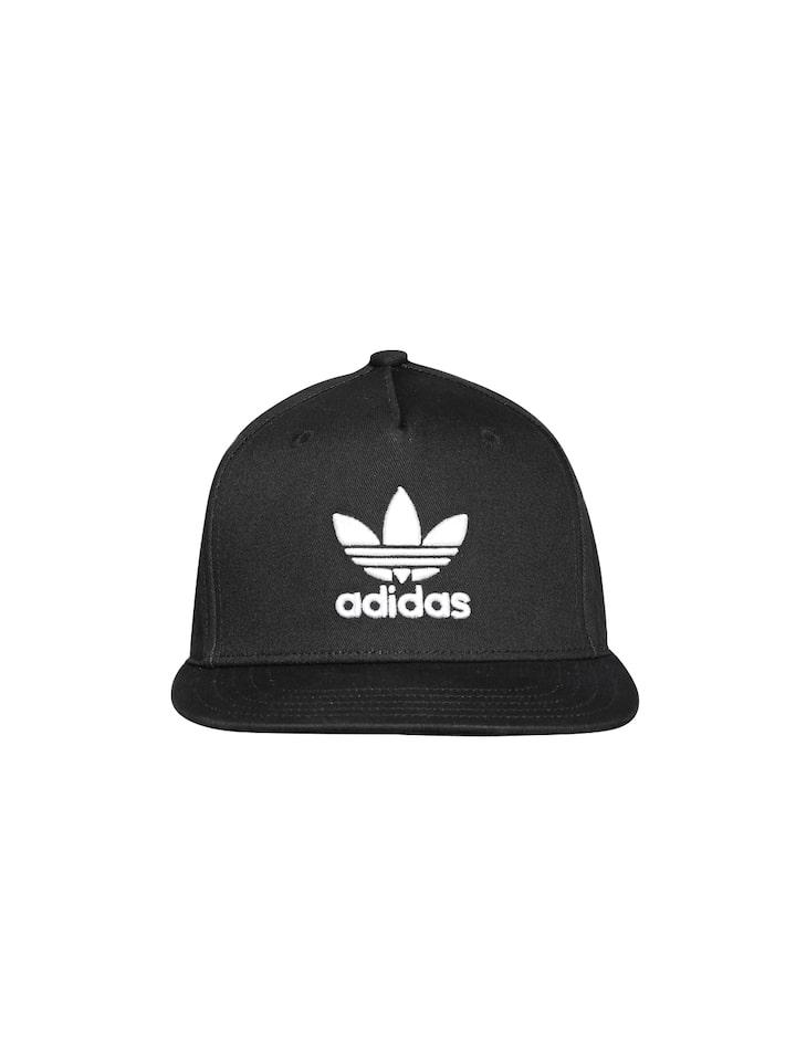 8666345969b Buy ADIDAS Originals Unisex Black AC TRE Flat Cap - Caps for Unisex 1808899