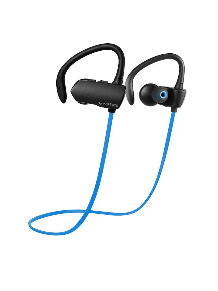 7c6852a317a Buy SoundPEATS Blue & Black In Ear Bluetooth Earphones SP Q9A BL -  Headphones for Unisex 1856850   Myntra