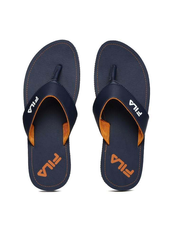 f3e52f83fe4205 Buy FILA Men Navy Top Flip Flops - Flip Flops for Men 1991164