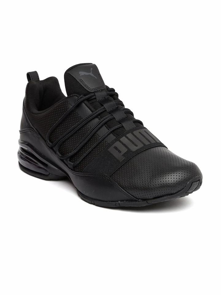 5cd027d74249 Buy Puma Men Black Cell Regulate SL Running Shoes - Sports Shoes for Men  2041610