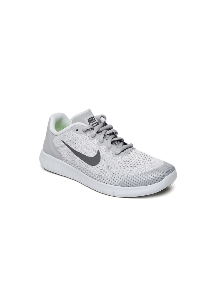 bcbb10817cf1 Buy Nike Boys Grey FREE RN 2017 (GS) Running Shoes - Sports Shoes ...