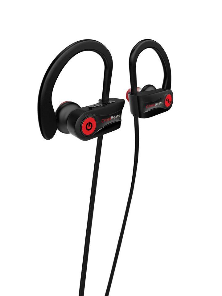 295b48f6316 Buy CrossBeats Unisex Black Raga Wireless Bluetooth Earphones With Mic RU8  - Headphones for Unisex 4406482   Myntra
