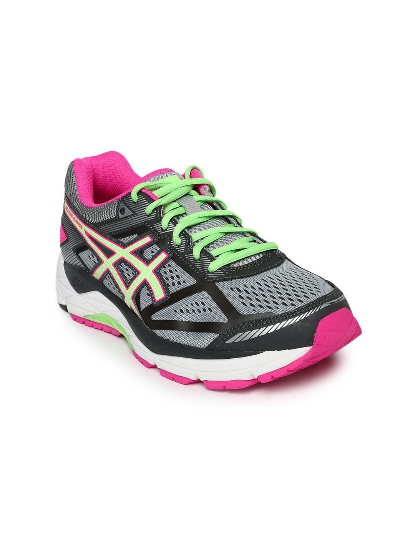 ASICS Women Grey Foundation 12 (D) Running Shoes image
