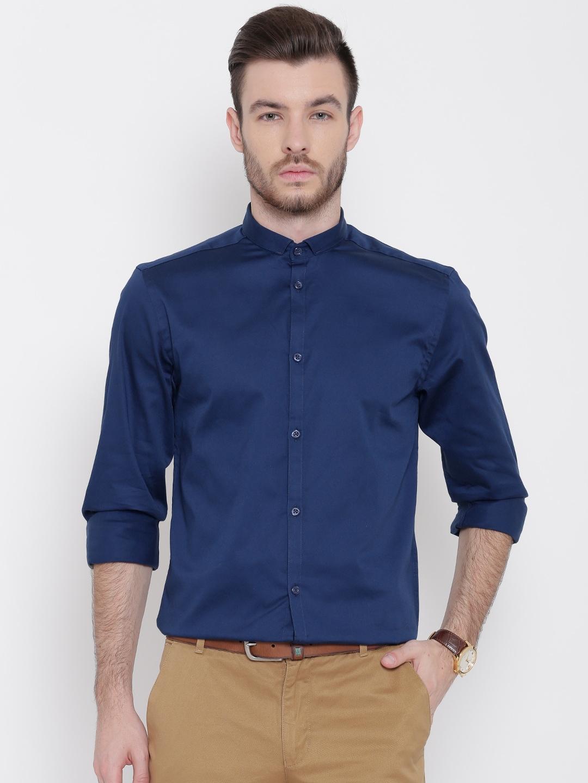 Jack & Jones Navy Smart Casual Shirt image