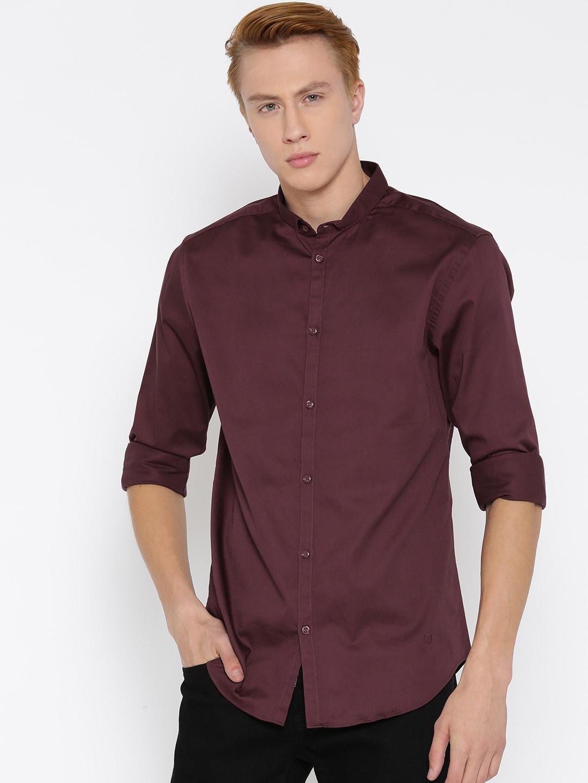 Jack & Jones Burgundy Casual Shirt image