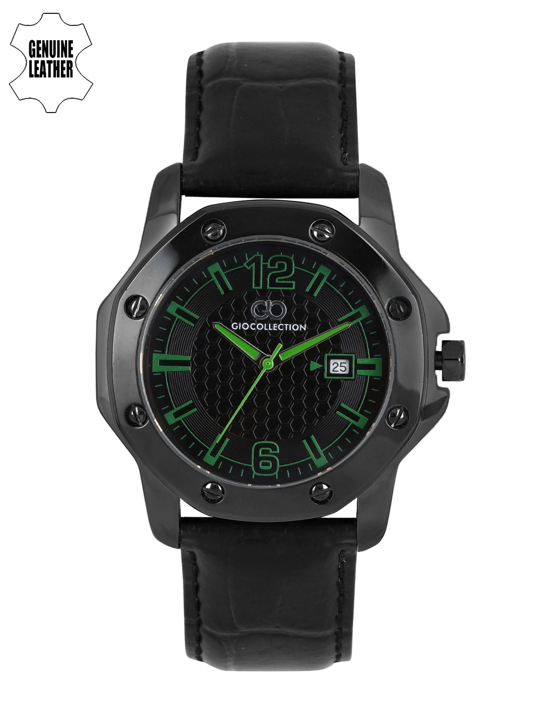 GIO COLLECTION Men Black Analogue Watch G1004-05