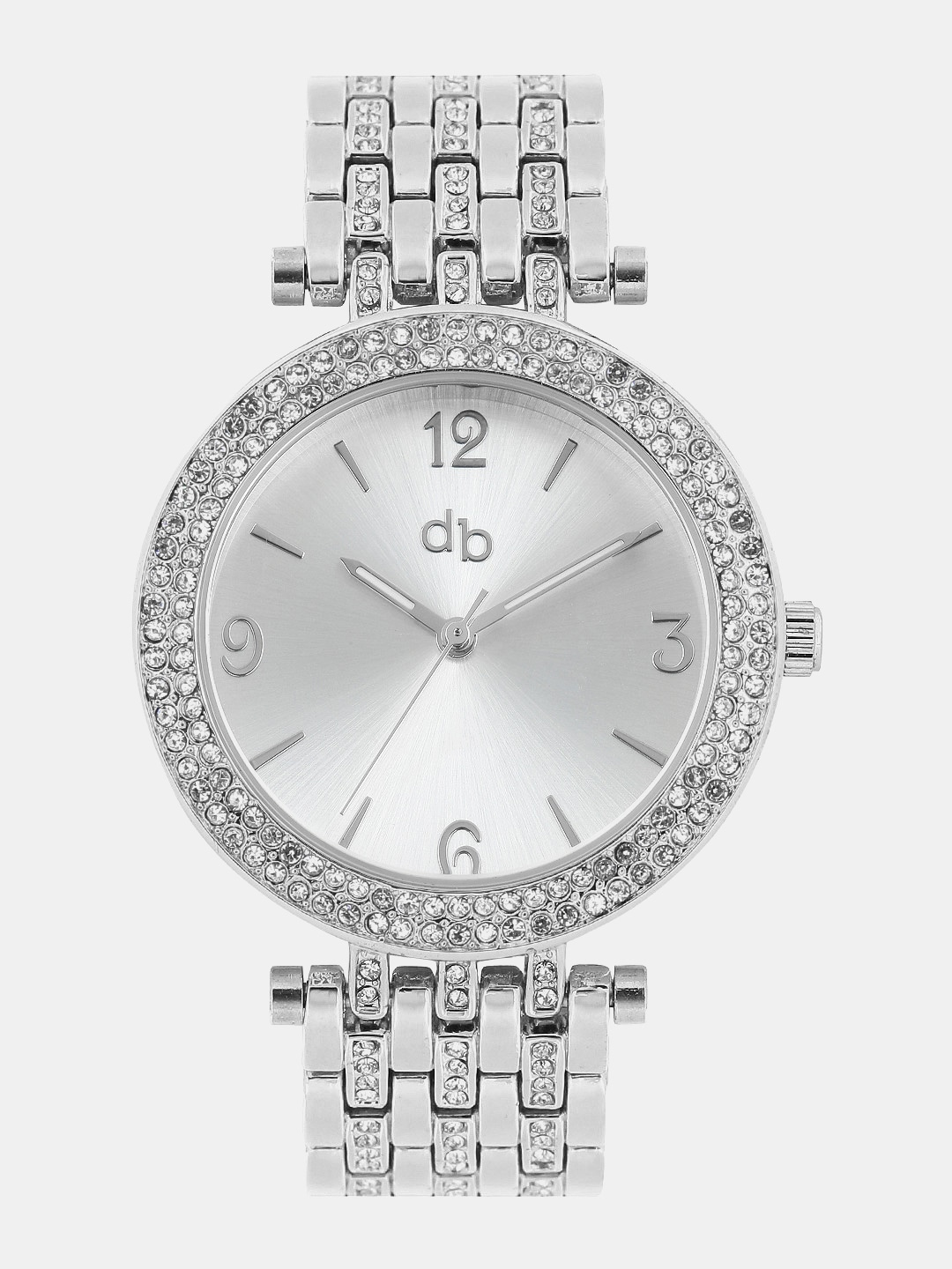 DressBerry Women Silver-Toned Dial Watch MFB-PN-Y-S5771 image
