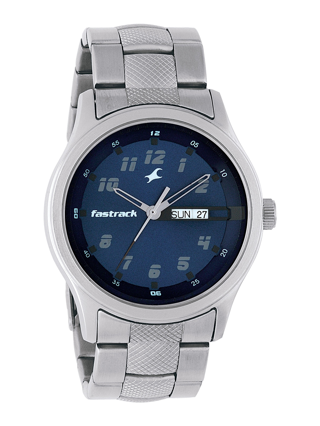 Fastrack Men Blue Dial Watch NF3001SM02