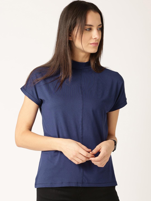 ETHER Navy blue T-shirt