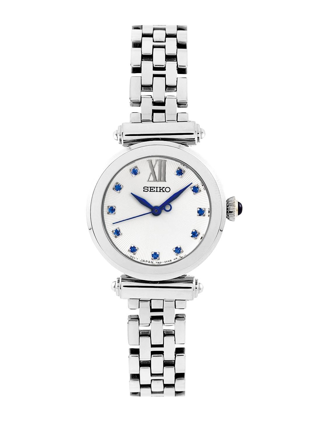SEIKO Women Off-White Dial Watch SRZ399P1