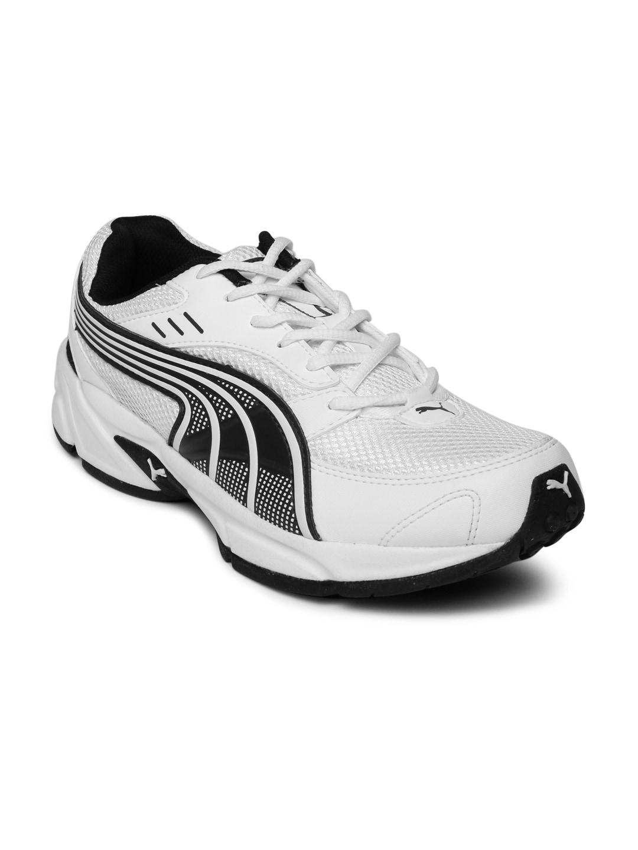 Puma Men White Running Shoes image