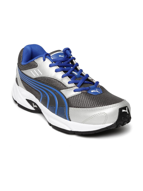 Puma Men Grey Running Shoes image