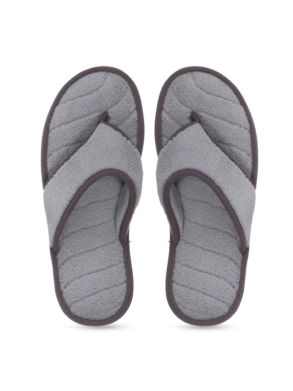 Dearfoams Women Grey Flats image
