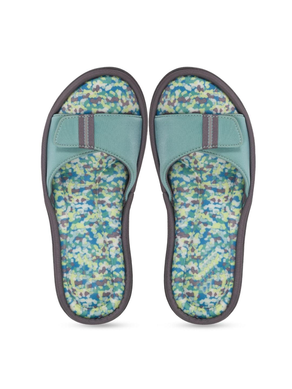 Dearfoams Women Blue Flats image