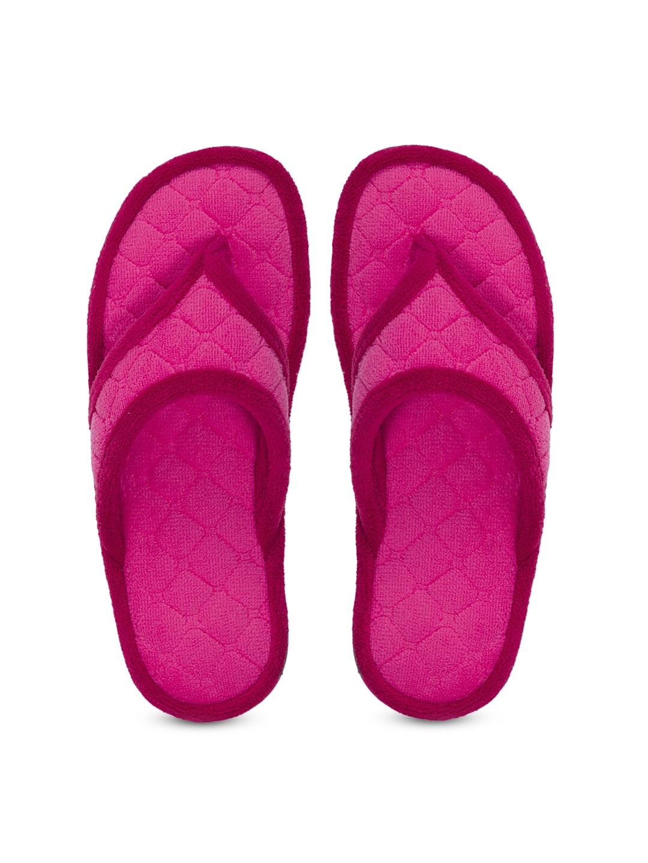 Dearfoams Women Pink Flats image