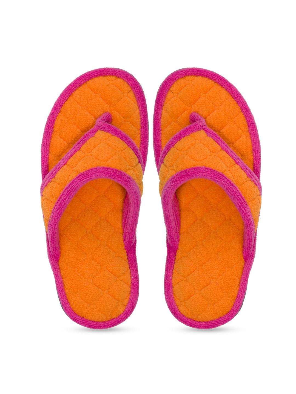 Dearfoams Women Orange Flats image