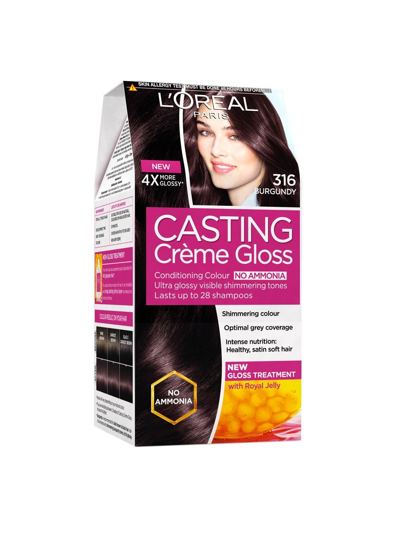 LOreal Paris Casting Creme Gloss Burgundy Hair Colour 316 image