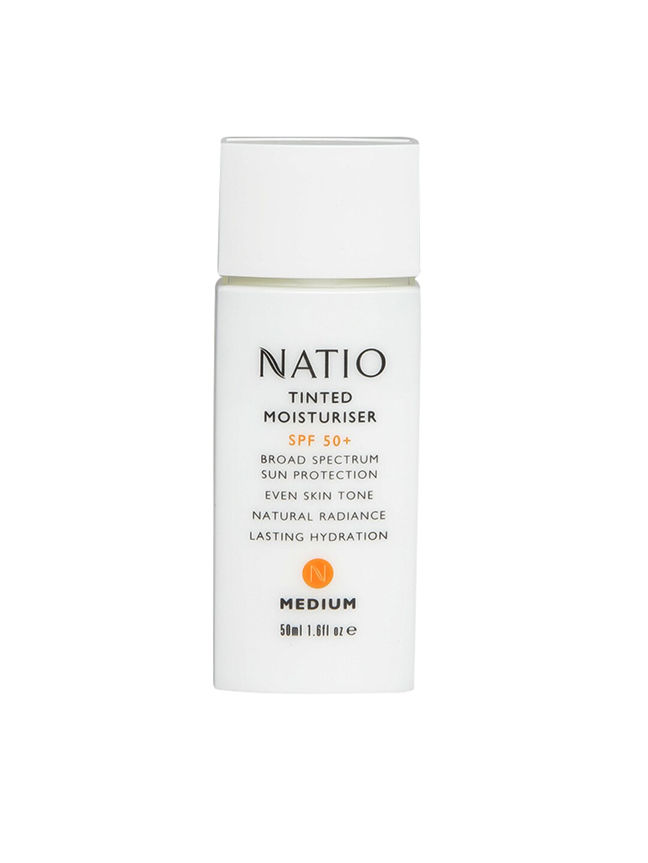 Natio Medium Tinted Moisturiser SPF 50+ image