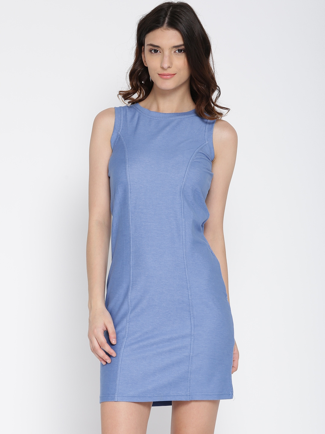 AND by Anita Dongre Blue Sheath Dress image