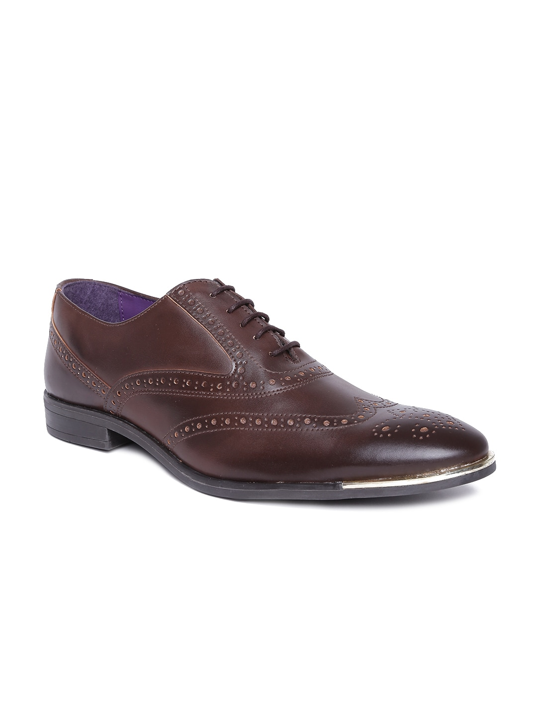 Knotty Derby by Arden Men Brown Brogues image