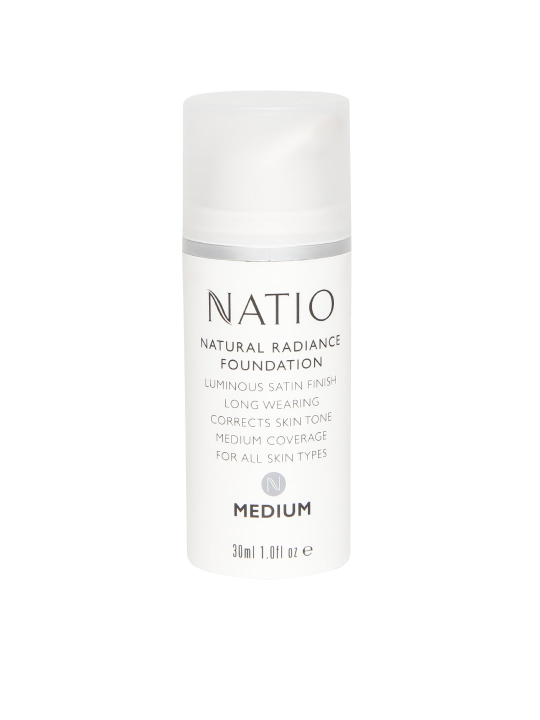 Natio Natural Radiance Medium Foundation image