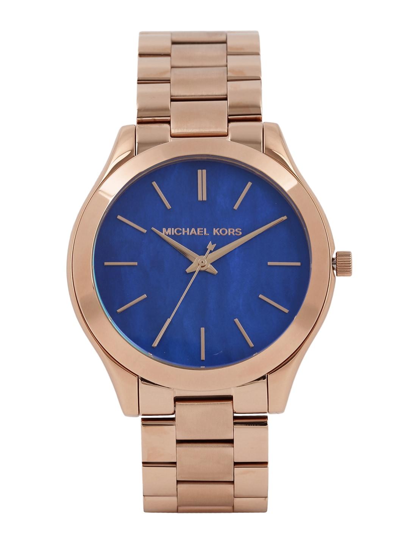 Michael Kors Women Blue Dial Watch MK3494I image
